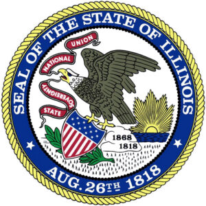 Seal of the State of Illinois at Hellenic Foundation